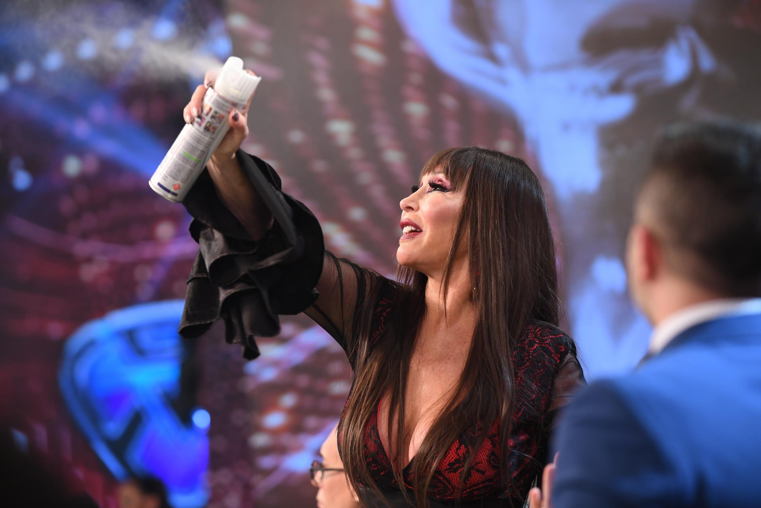 Moria Casán tuvo un picante enfrentamiento con Nancy Pazos