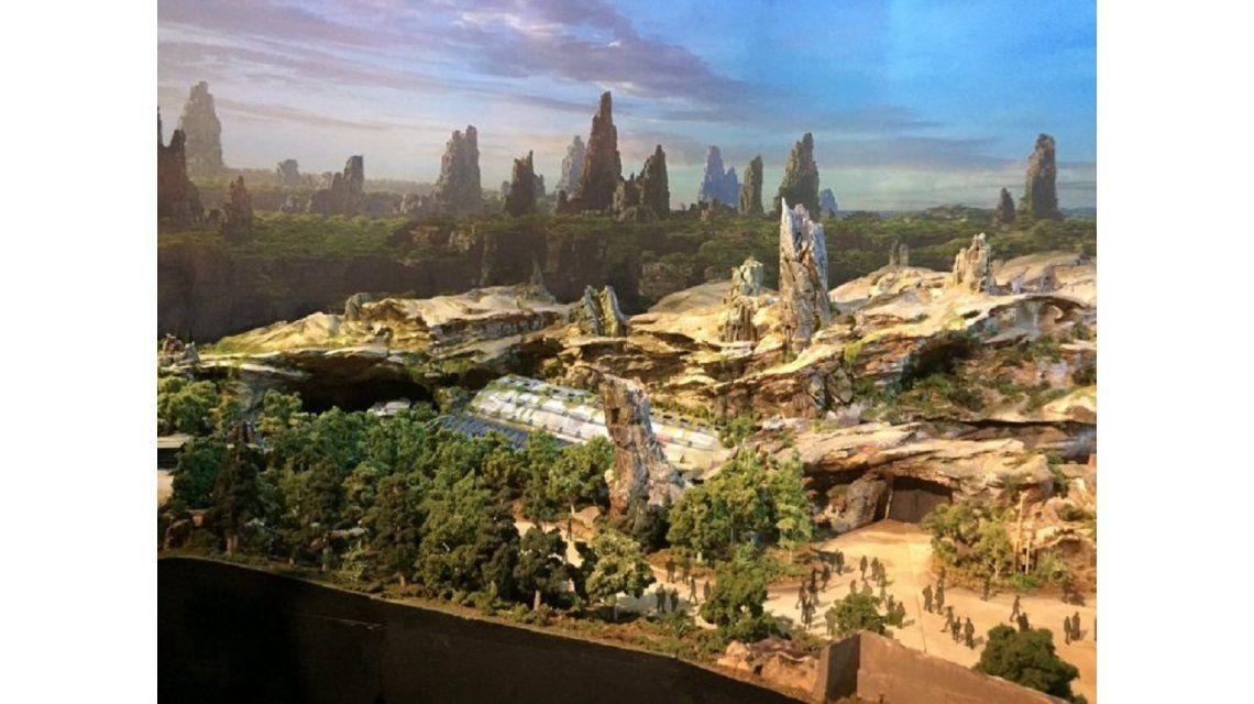 Disney mostró cómo será el parque temático de Star Wars