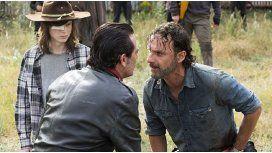 Rick y Negan
