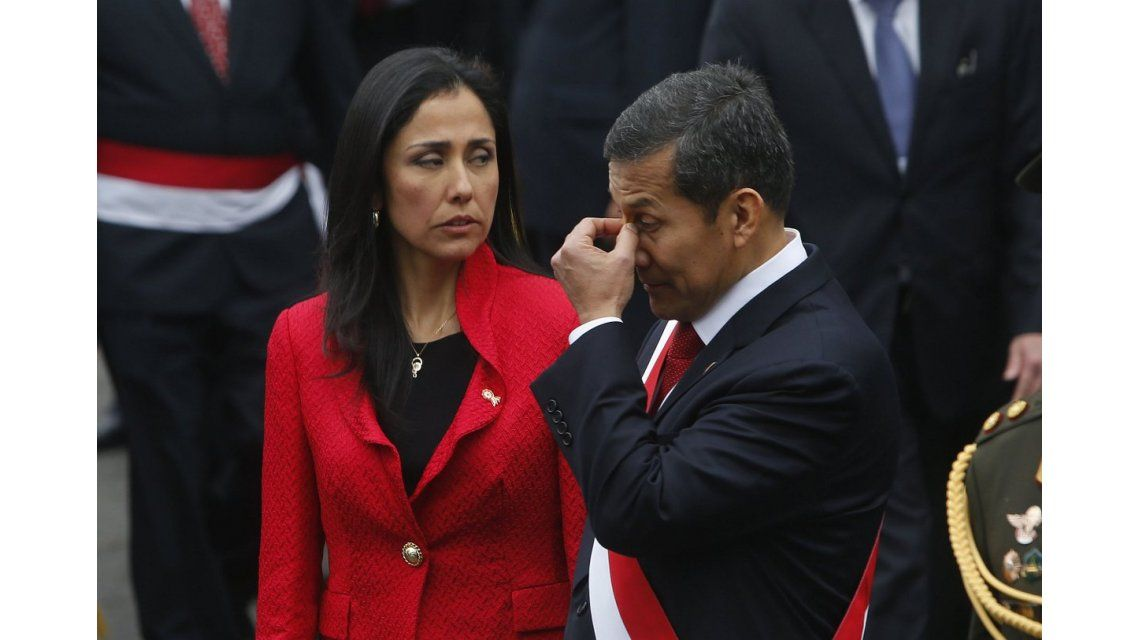 Nadine Heredia y Ollanta Humala