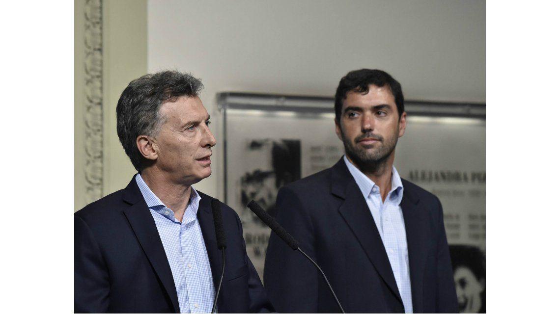 Mauricio Macri y Emilio Basavilbaso