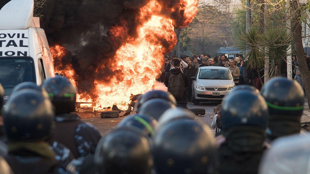 Represión en Pepsico: varios heridos y detenidos durante el desalojo