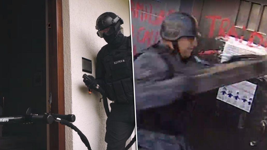 Así fue el fallido intento de Infantería para derribar una puerta
