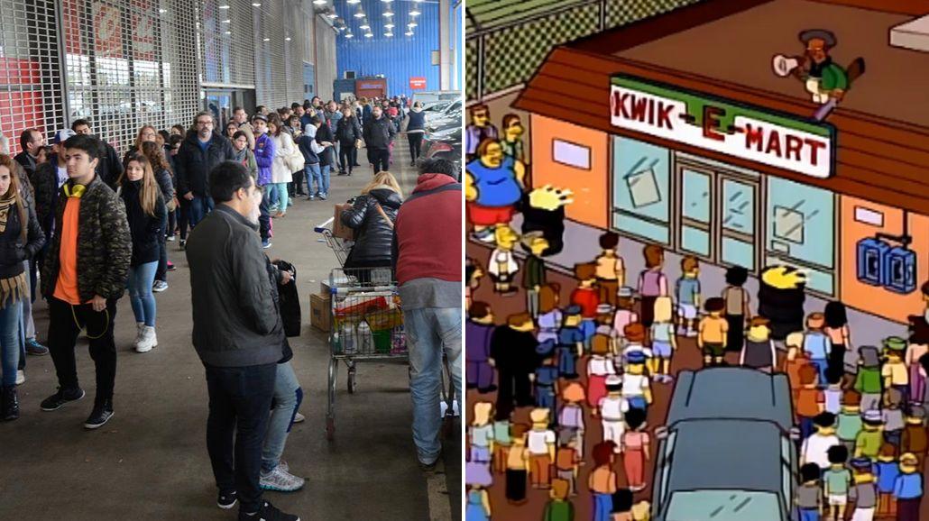 Esto no pasa ni en Springfield