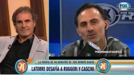 Ruggeri a Latorre: ¿Te querés meter en el barro?