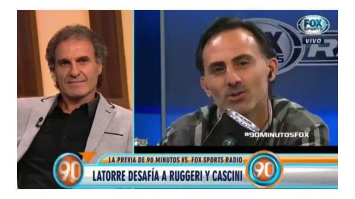 La amenaza de Ruggeri a Latorre: ¿Te querés meter en el barro?