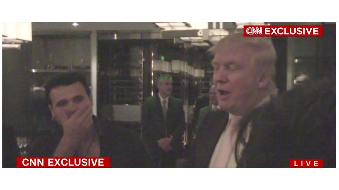 Donald Trump con los rusos