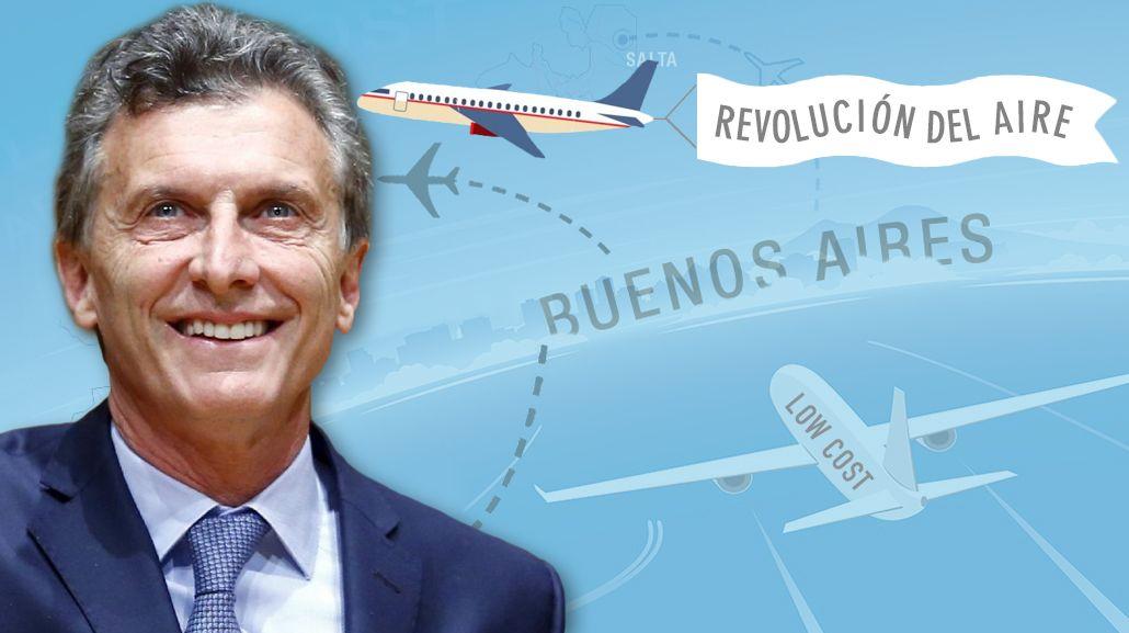 Mauricio Macri habló sobre las low cost