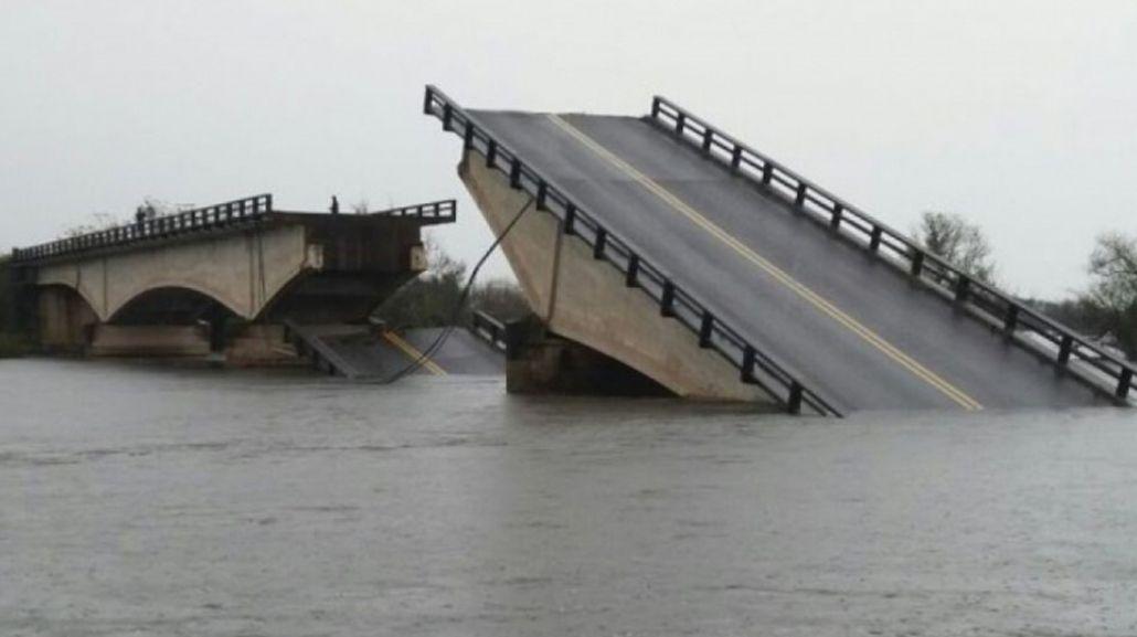 Encontraron al hombre que se cayó por el puente roto de Corrientes