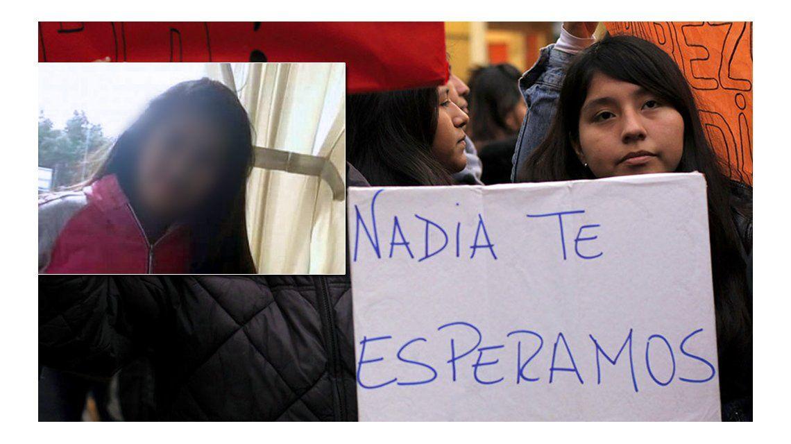 Nadia ya está con su familia
