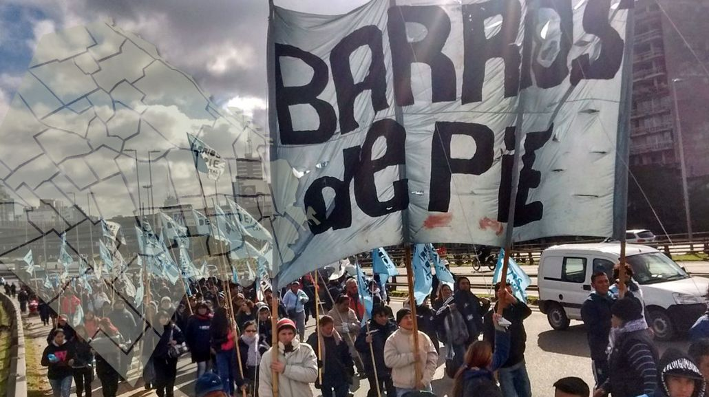 Barrios de Pie y sindicatos protestarán en distintos puntos de la Ciudad