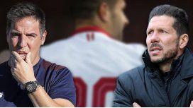 Vitolo dejó el Sevilla de Berizzo y se va al Atlético de Madrid de Simeone