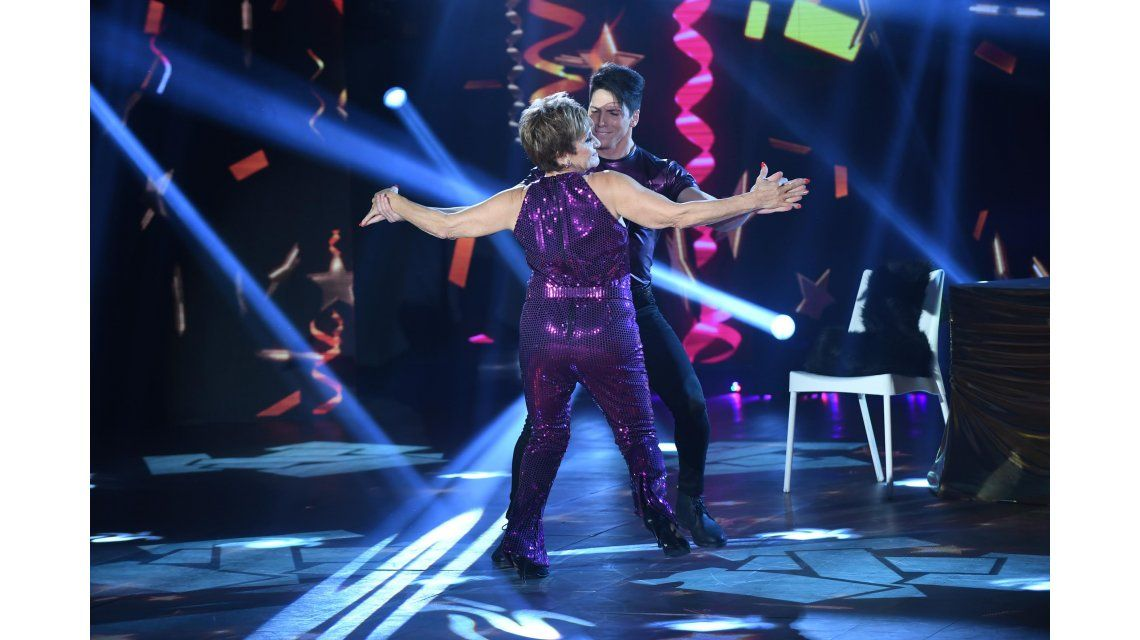 Consuelo Peppino bailó un éxito del Puma Rodríguez