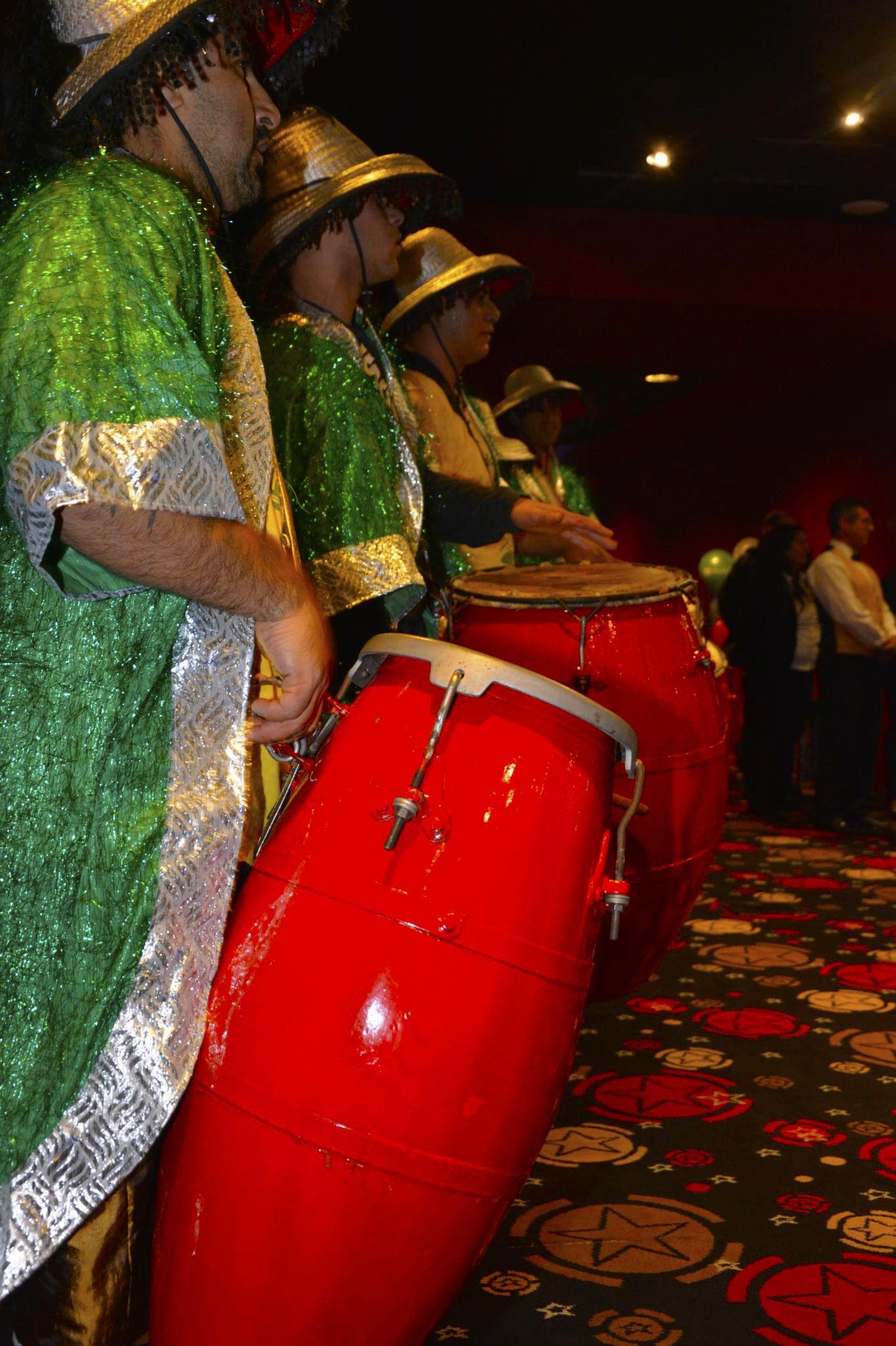 El candome estuvo en el festejo por los 110 años de Punta del Este
