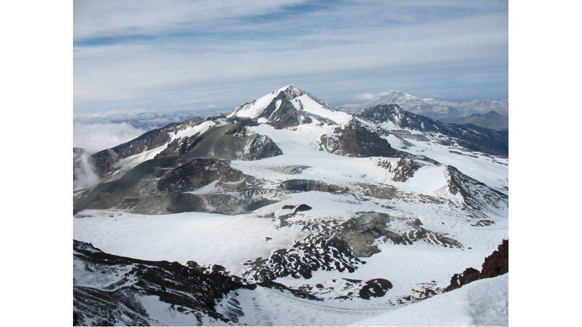 Alerta amarilla por la actividad del volcán Peteroa