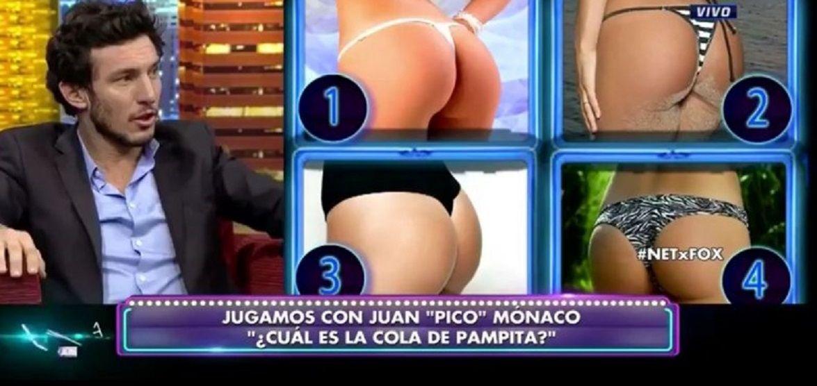 Pico Mónaco tuvo que adivinar cuál es la cola de Pampita