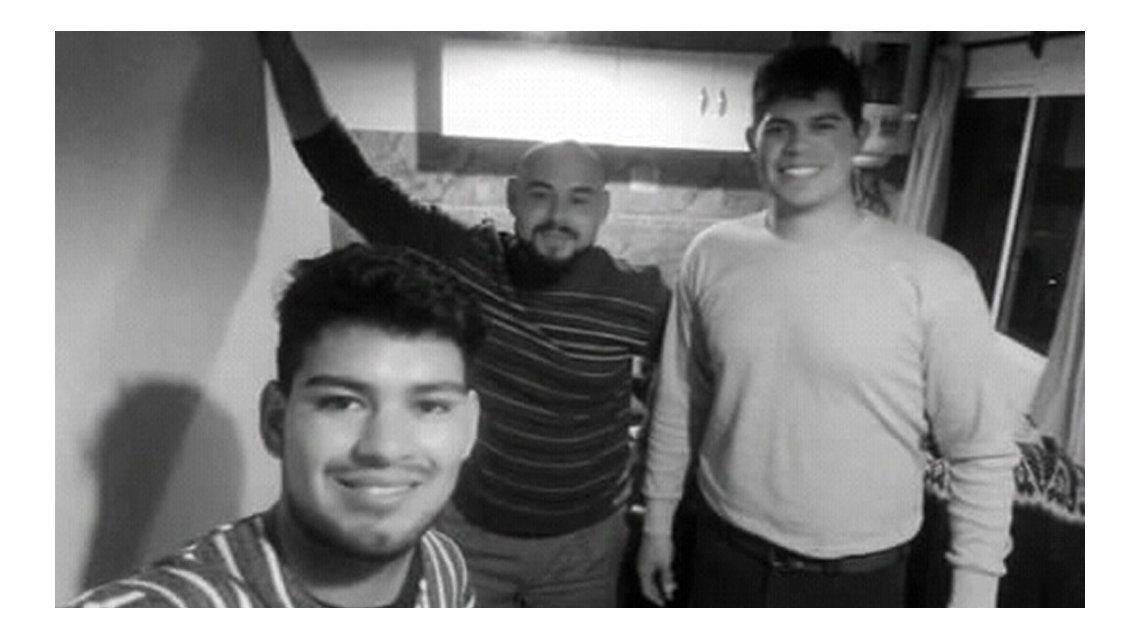 Los amigos partieron el pasado sábado de San Luis