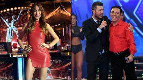 Pampita, a los saltos en Showmatch por Cristian Castro