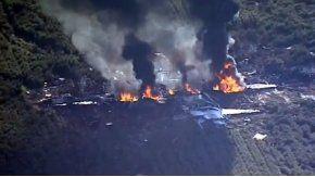 Se estrelló un avión de la marina estadounidense en Mississipi