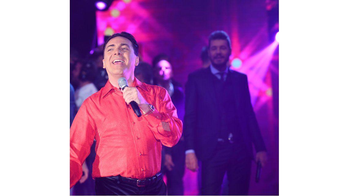Cristian Castro cantó sus hits y contó porqué se separó en la luna de miel