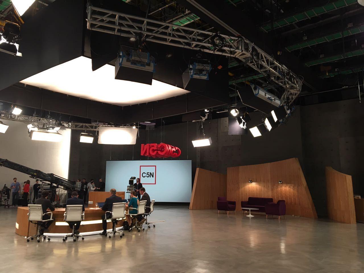 C5N estrenó nuevo estudio
