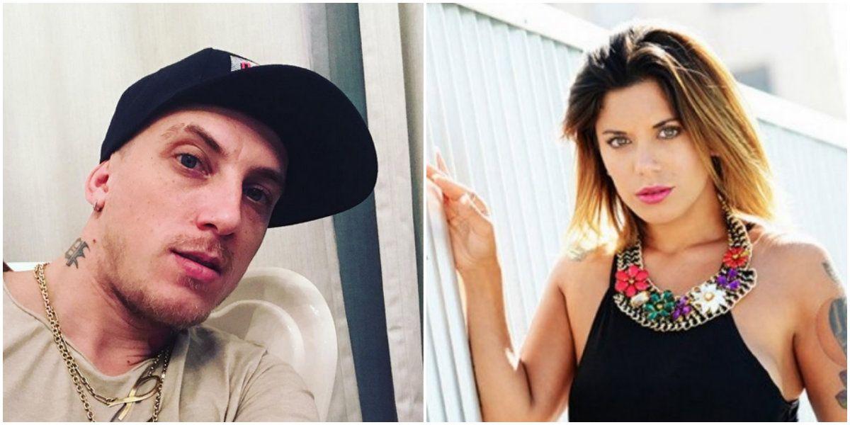 El Polaco confirmó que le mandó los mensajes de amor a Valeria Aquino.