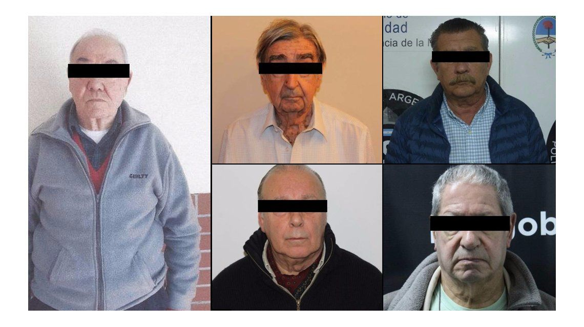 Detuvieron a 5 prófugos por delitos de lesa humanidad