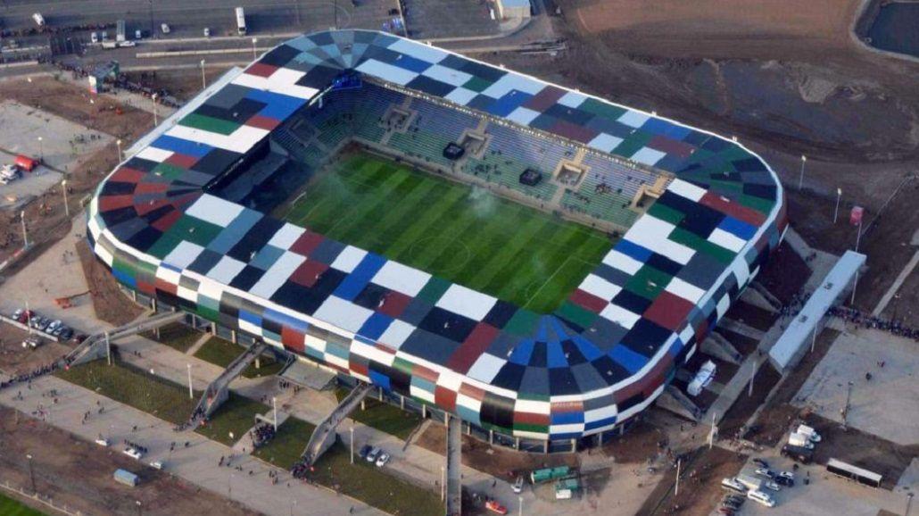 La imponente vista aérea del nuevo estadio