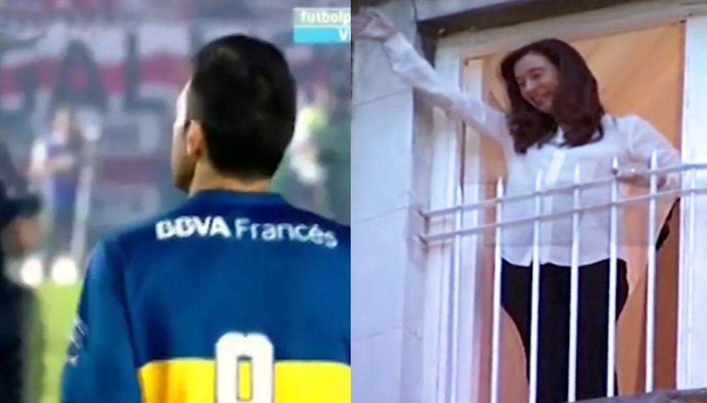 VIDEO: El festejo de Cristina Kirchner cuando pierde Boca