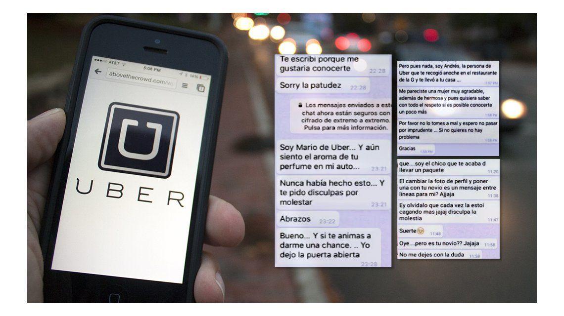 Conductores de Uber acosan a mujeres
