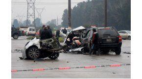 Múltiple choque fatal en Rosario