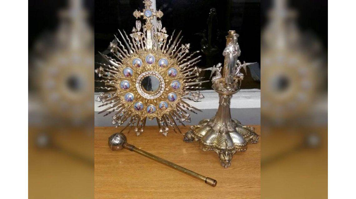 Robó reliquias de una iglesia valuadas en 15 mil dólares