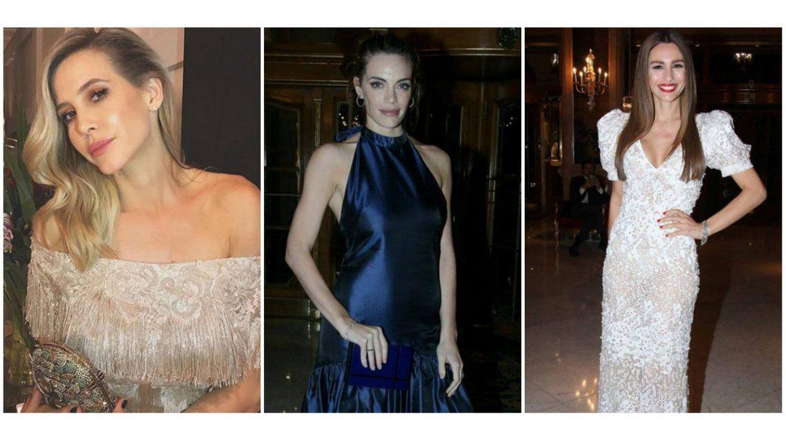 Los looks de las famosas en una noche de gala.
