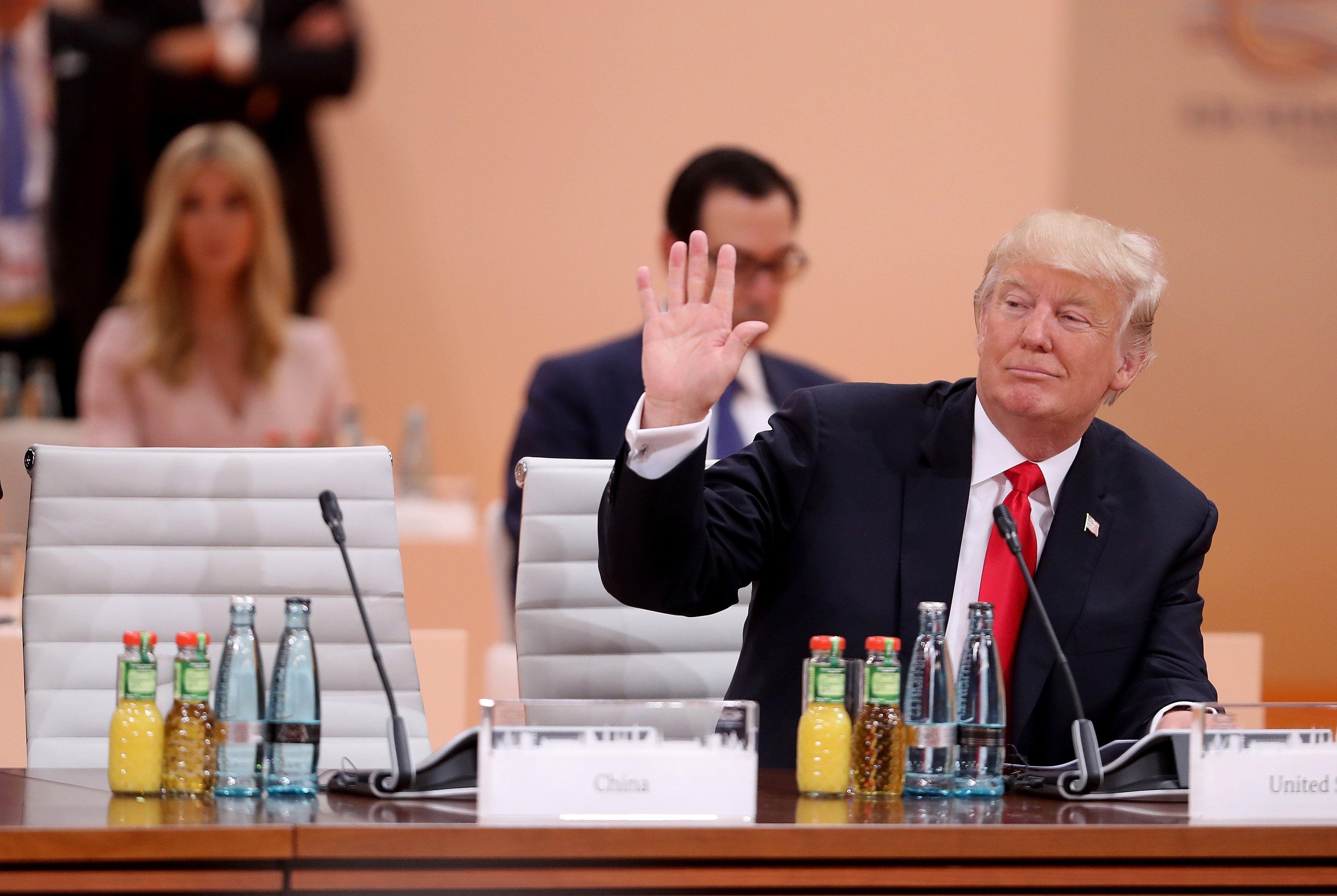 El video de Donald Trump en el G20 al estilo cumpleaños de 15
