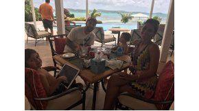 Messi y Antonela, en su luna de miel junto a sus hijos
