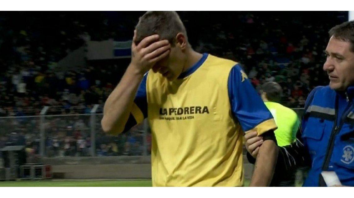 Palermo hizo dos goles y se fue lesionado en San Luis - Crédito: @SC_ESPN