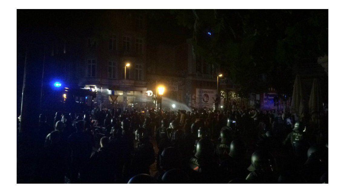 Hubo enfrentamientos hasta el último día de la cumbre del G20 en Hamburgo