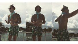 Maluma bailando en Instagram