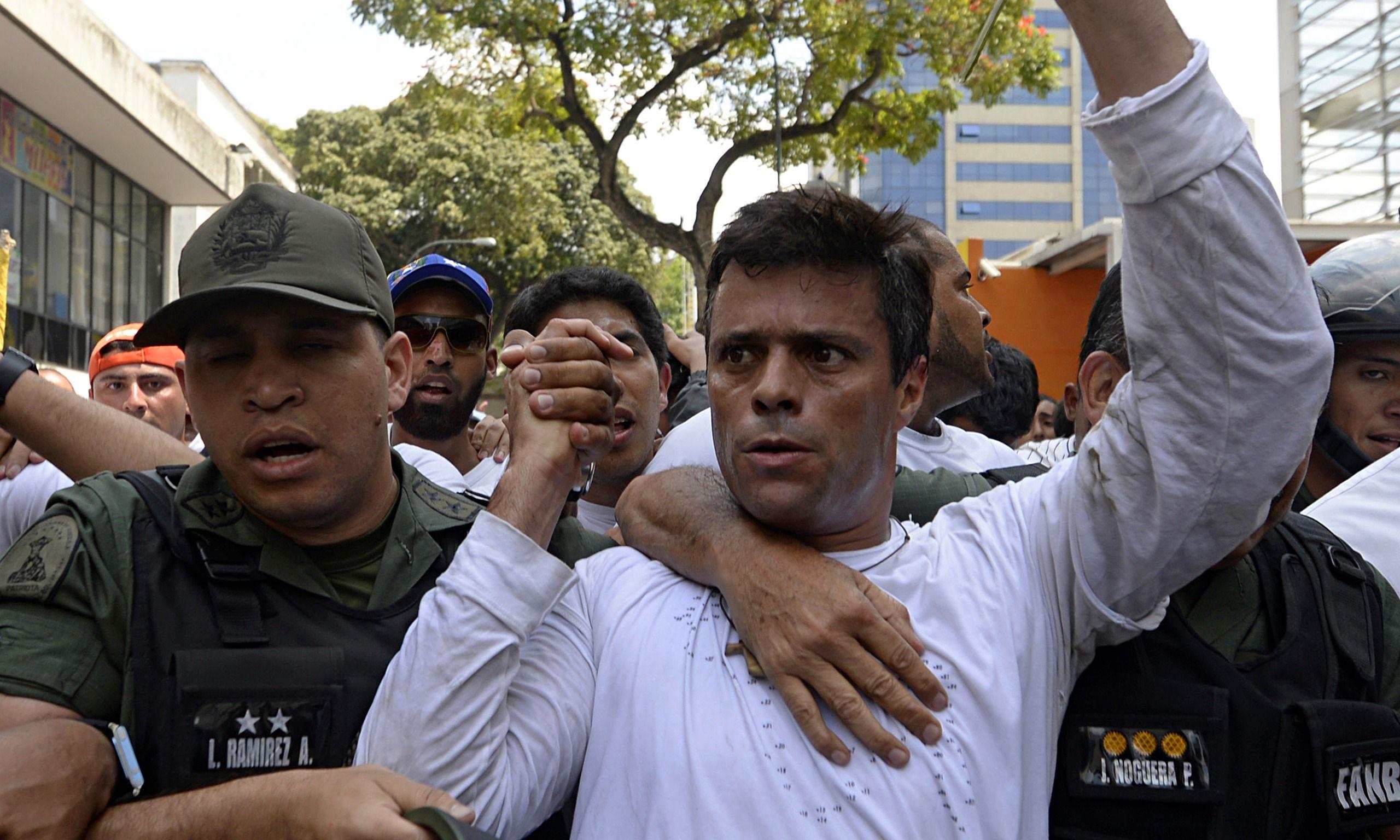Venezuela: Leopoldo López pasó a arresto domiciliario