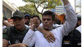 Leopoldo López, otra vez a la cárcel: el video de la detención