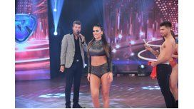 Rocío Robles, Marcelo Tinelli y Tyago Griffo