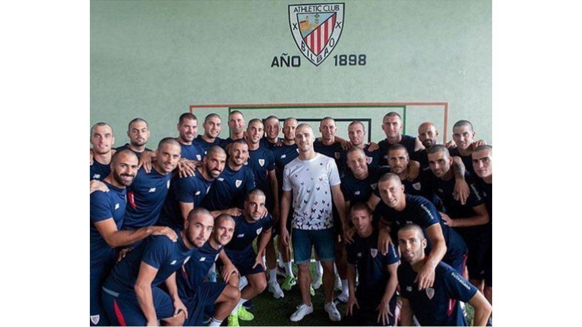 Emocionante gesto de Athletic Bilbao para Yeray Álvarez