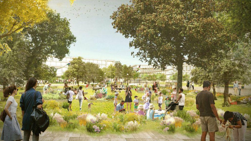 El nuevo campus será como una pequeña ciudad de Facebook