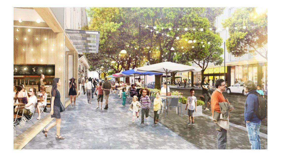 El campus de Facebook incluirá tiendas y departamentos