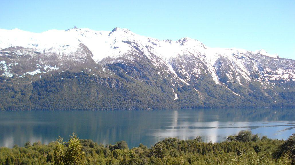 El Lago Rivadavia está dentro del Parque Nacional Los Alerces