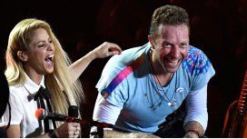 Shakira y Chris Martin