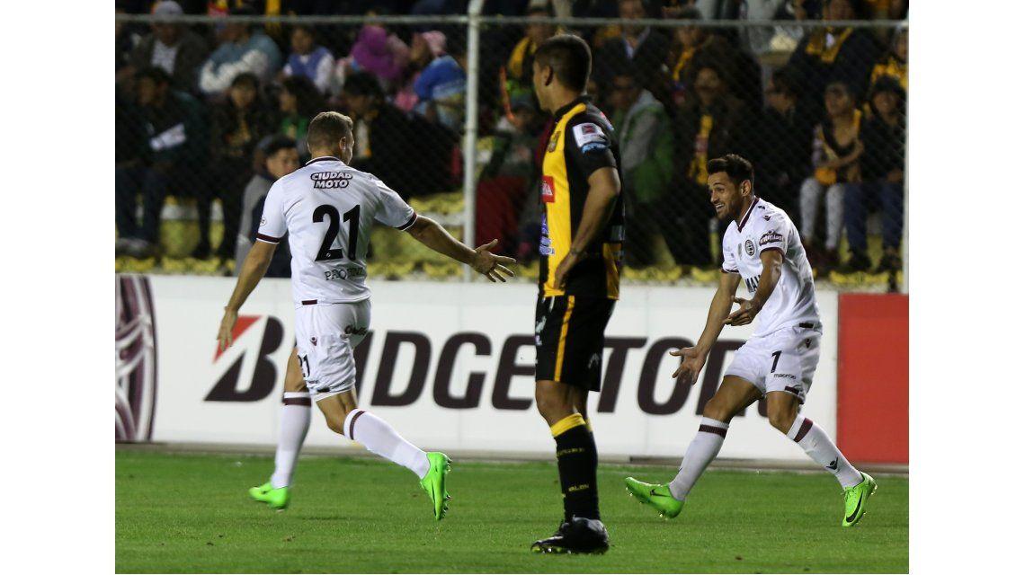 Lanus enfrenta a The Strongest por la Libertadores