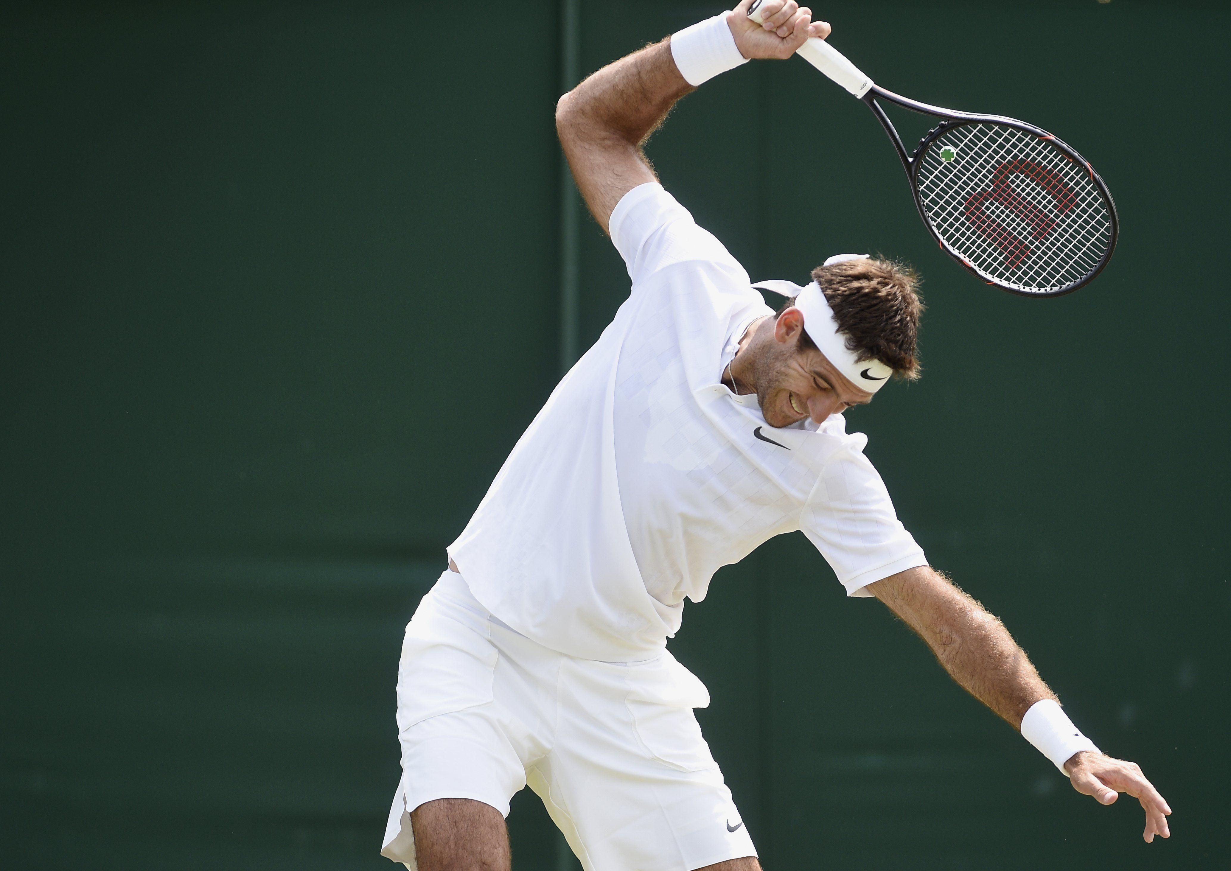 Del Potro reaparecerá en Washington tras su floja actuación en Wimbledon