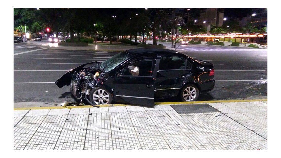 Los autos quedaron destrozados