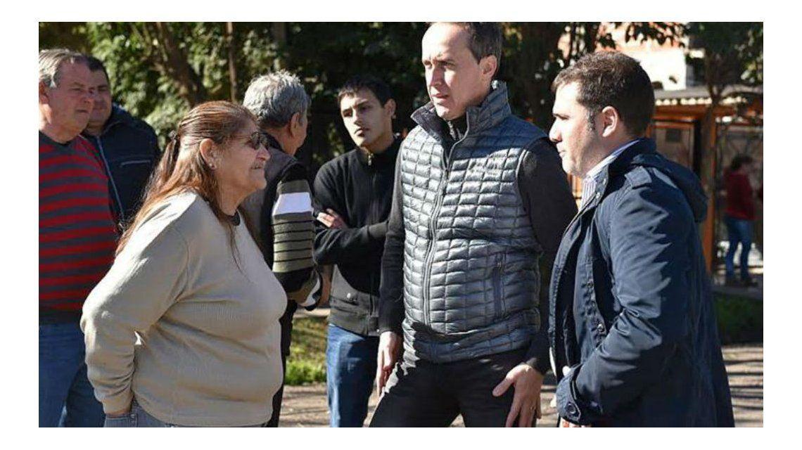 Avanzan las obras viales y la nueva posta policial en Ituzaingó